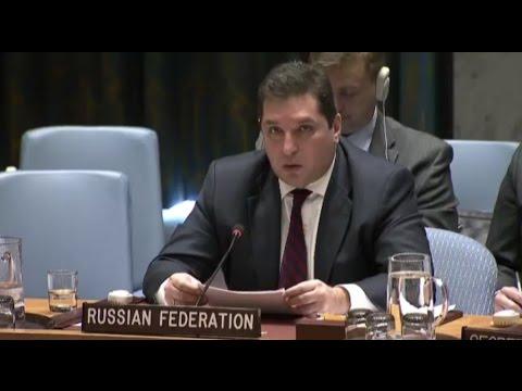 Дно российской дипломатии. Преемник Чуркина на заседании Совбеза ООН: Смотри в глаза, сука!
