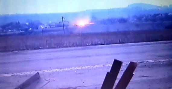 Волонтеры опубликовали видео ВСУ как уничтожают ДОТ боевиков на Донбассе