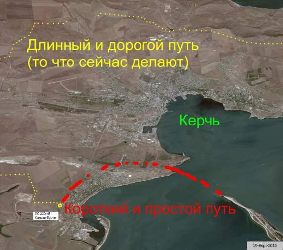 Энергомост в Крым – фикция или реальность?
