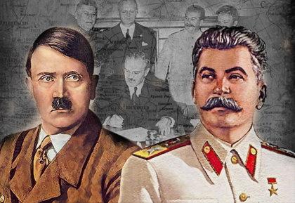 Как Сталин с Гитлером дружил