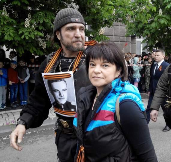 Ряженный Залдостанов прибарахлился в Донецке калорадками, или к вопросу о кадрах орды