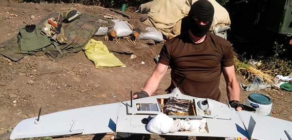 Войны дронов в небе Донбасса