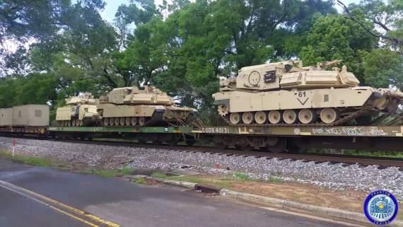 """""""Трамп ваш, c#ки! Cтойте смирно и не рыпайтесь!"""" – Армия США продолжает масштабную переброску войск на юго-восток"""