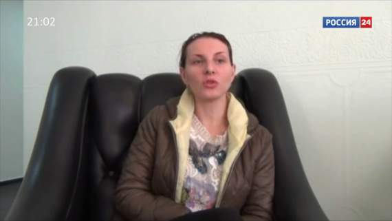 Жительница Донецка о сексе с Саньком Захарченко (видео)