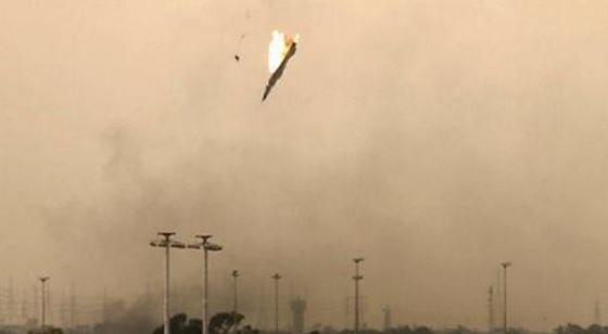 В Сирии повстанцы сбили военный самолет РФ под Дамаском