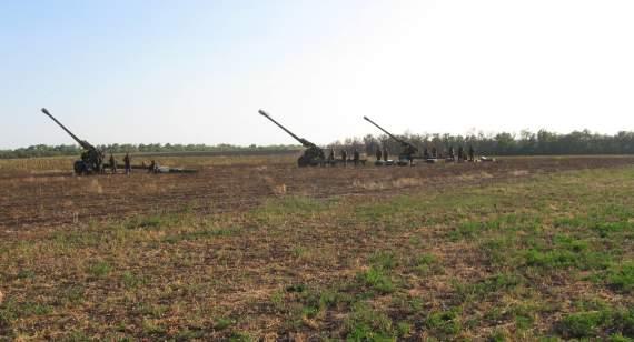 Історія війни на Донбасі: 55 артилерійська бригада у серпні 2014