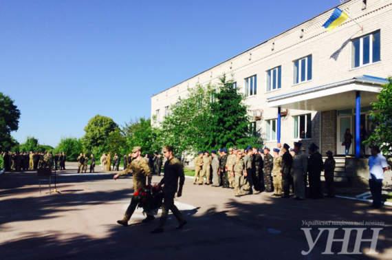 В Борисполе подстрелили мужчину, который незаконно проник в воинскую часть