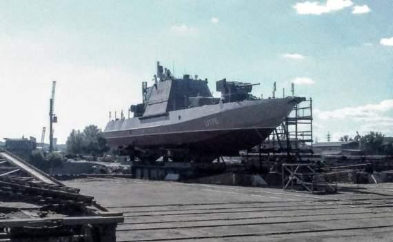 Один из заложенных в прошлом году бронекатеров «Гюрза» cпускают на воду сегодня