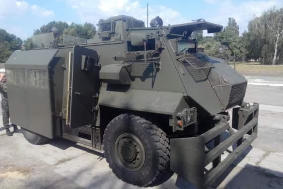 "Українська зброя: АТ-105 ""Саксон"""