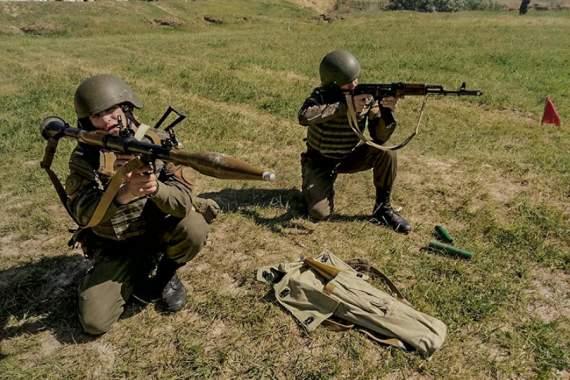 В Одесі пройшли змагання гранатометників