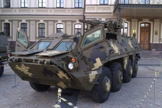 Українська зброя: БТР-4 «Буцефал»