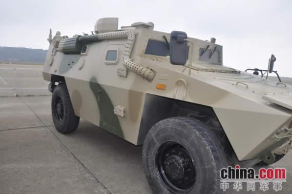Китай подарит Беларуси партию новейших бронированных машин