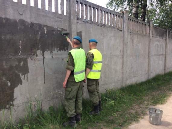 """""""Хотят ли русские войны?"""": псковская солдатня стёрла детские рисунки против войны с Украиной"""