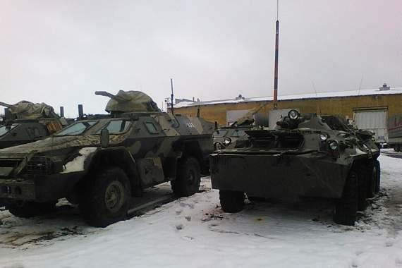 Російські броньовики для гібридної армії