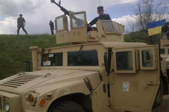 Зброя України: Хамві