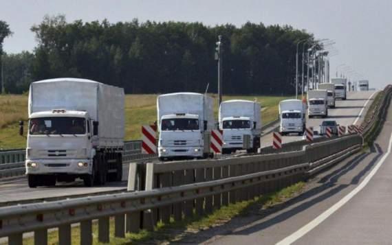 Украина снова приняла «гумконвой» от России