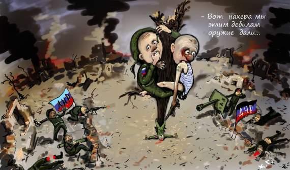 Жуткие реалии оккупированного Донбасса