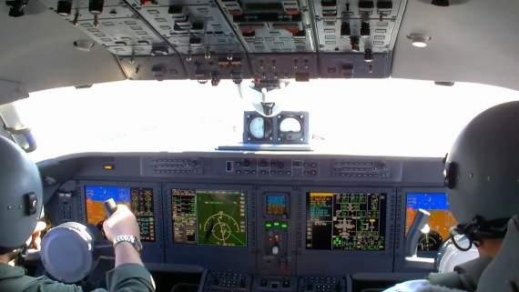 В Сети опубликовали уникальное видео полета украинского самолета Ан-132D