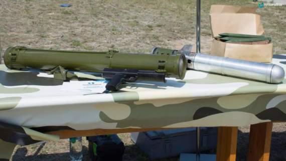 Український арсенал: реактивний вогнемет РПВ-16