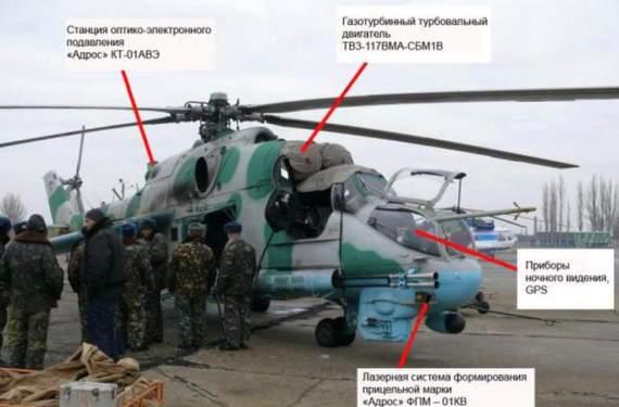 Украинский арсенал: Ми-24ПУ-1