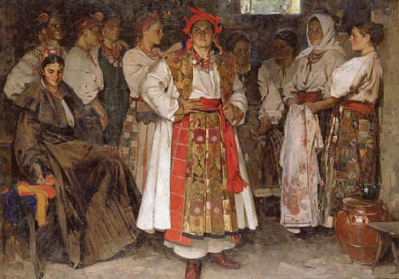 Русский язык происходит от Украинского