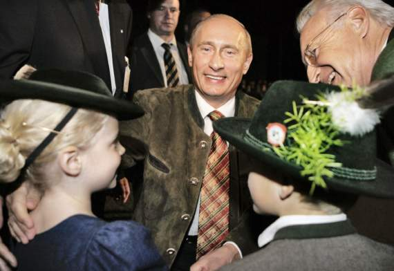 Немецкие пособники Путина