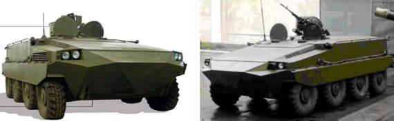 Украинский арсенал: БМП-К-64