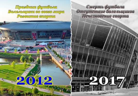 Своих достижений нет, значит будем гордиться украинскими