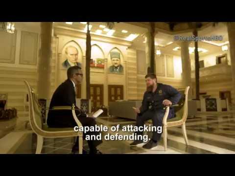 Кадыров пригрозил «весь мир поставить раком» ВИДЕО