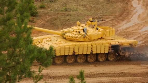 Модернизация Т-72 по-беларуски (видео)