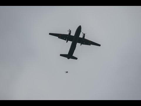 Спецназ НГУ вперше провів десантування  з літака АН-26 (відео)