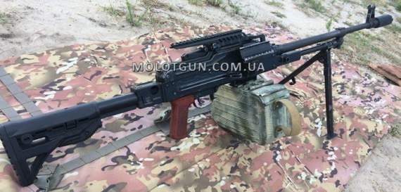 «Обновка» для кулемета ПК/ПКМ від компанії MolotGun