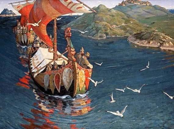 Флот та морські походи за часів Київської Русі