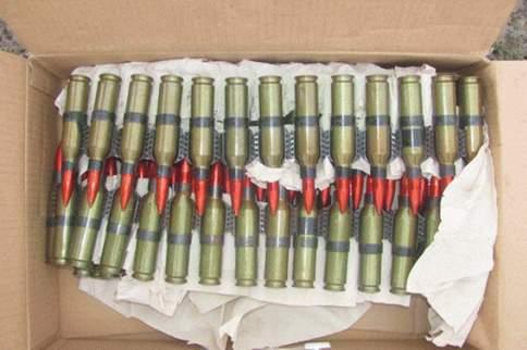 В Лисичанске задержан джип, набитый гранатами и патронами. ФОТО