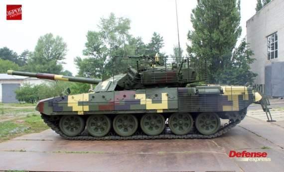 Український арсенал: Т-72АМТ