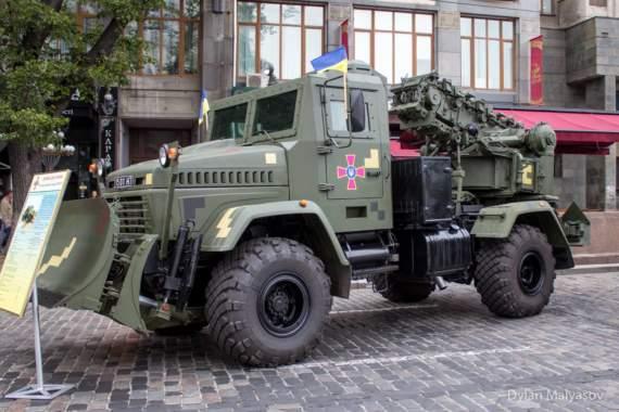 Український арсенал: полкова землерийна машина ПЗМ-3-01