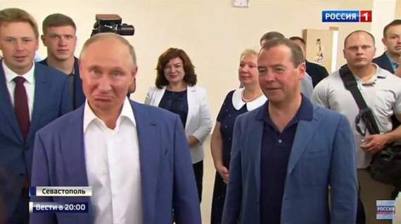 "Путин, – ""Место, где мы находимся, – хер…"""