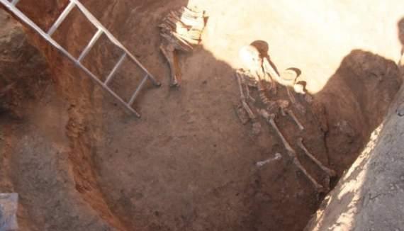 На Сичеславщине археологи нашли скифскую амазонку