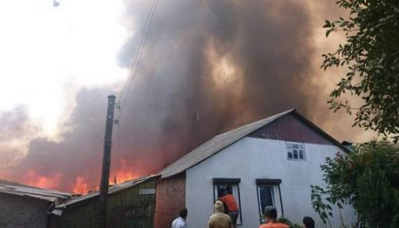 Донбасский бумеранг: в Ростове из-за взрывов полгорода остались без света и газа