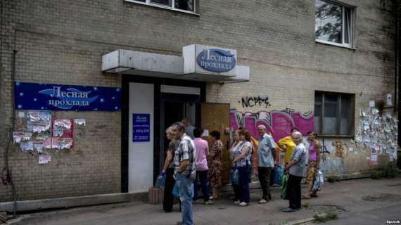 Луганск: в аду страха, взрывов и разрушений