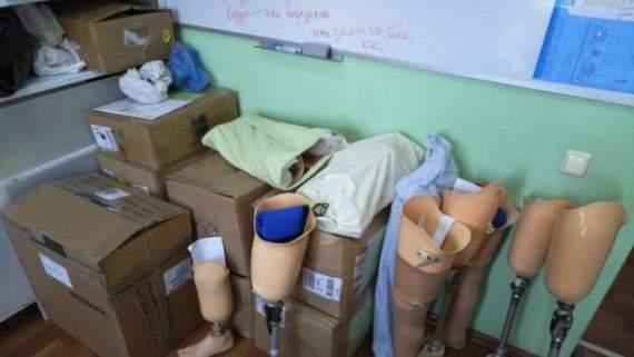 З Росії поставляли неякісні частини для протезування бійців АТО, – СБУ