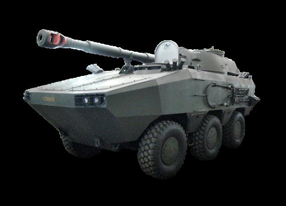 """Український арсенал: бронемашина """"Отаман"""" 6 х 6"""