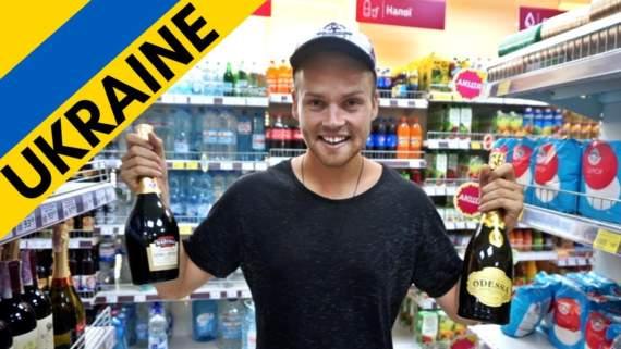 Блогера з Нової Зеландії шокували українські ціни (відео)