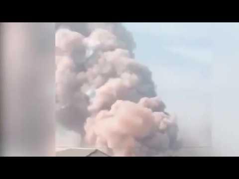 Снаряд боевиков задел мост: кадры из «горячей точки» на Донбассе