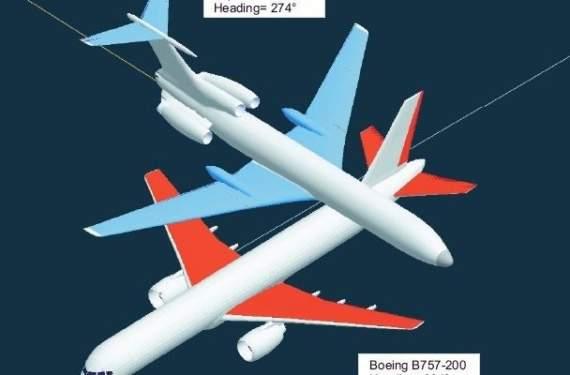 Столкновение Ту-154М и «Боинга-757» над Германией