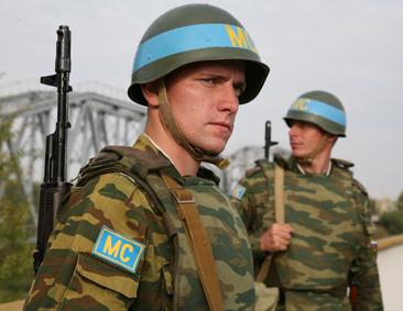 Под прикрытием миротворцев