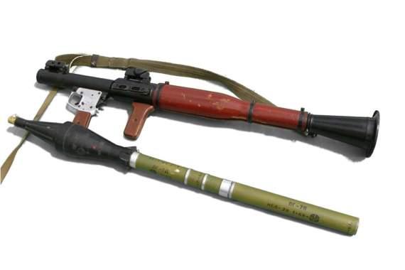 Украинский арсенал: противотанковый гранатомет РПГ-7