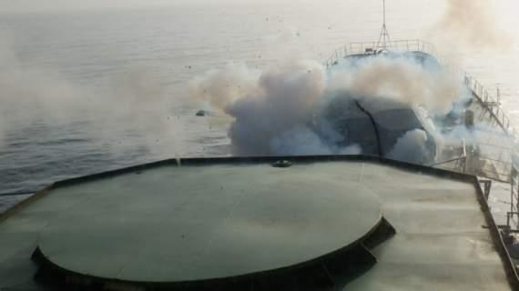На РФ взорвался большой десантный корабль, но скрывали это 3 месяца