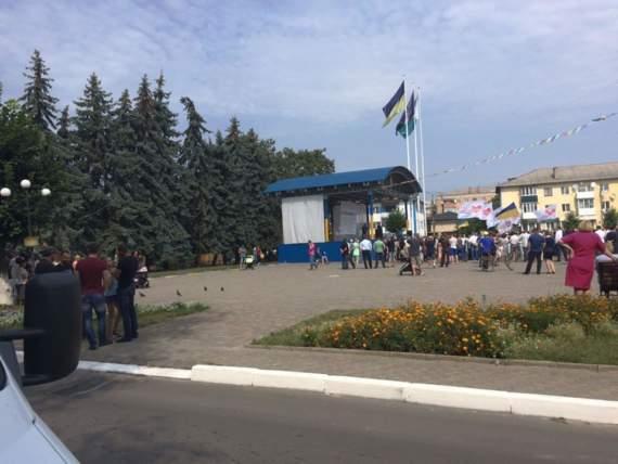 Політичний занепад ВО «Батьківщина» або провал візиту Тимошенко у Рівне