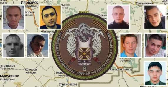 Идентифицированы 9 контрактников 8-й бригады ВС РФ, воевавшие на востоке Украины летом-осенью 2014 года.
